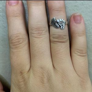 925 sterling silver ring size 5.5